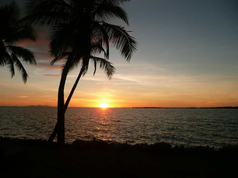 Fiji sunset :)